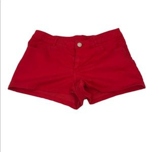 H&M Sz 6 Red Shorts